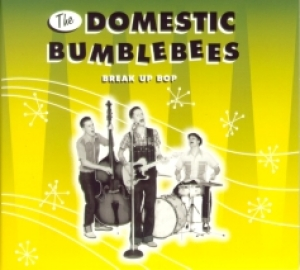 Domestic Bumblebees / Break Up Bop (CD)