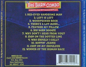 Big Barn Combo / Comin' all the Way from Detroit City (CD)