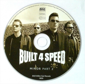 Built 4 Speed / Minor Part 2 (CD)