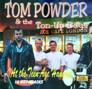 Powder, Tom & The Ton-Up Boys / At the Teen-age Hangout (Vinyl-LP)