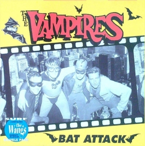 Vampires + Wangs / Bat Attack (CD)