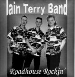 Iain Terry Band / Roadhouse Rockin' (LP)