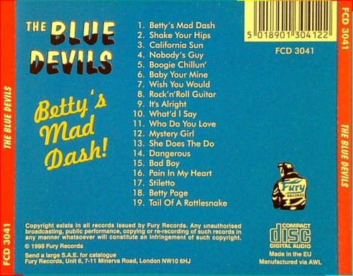 Blue Devils / Betty's Mad Dash (CD)