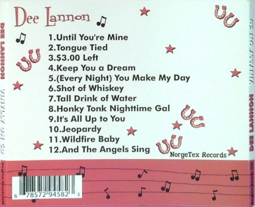 Lannon, Dee / Vinylly on CD (CD)