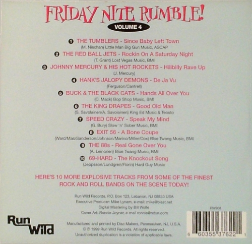 VA / Friday Nite Rumble! Vol. 4 (CD)