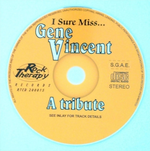 VA / I Sure Miss Gene Vincent (CD)