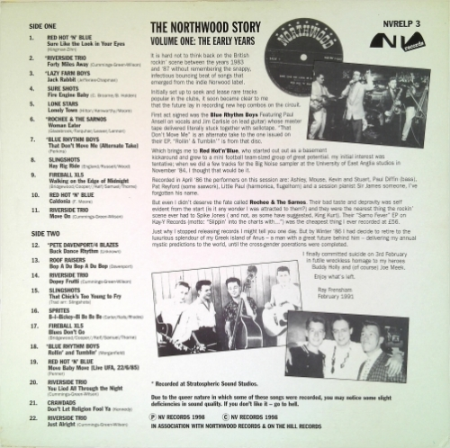 VA / The Northwood Story Vol. 1 - The Early Years (Vinyl-LP)