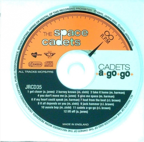Space Cadets / Cadets A Go Go (CD)