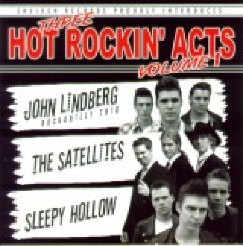 VA / Three Hot Rockin' Acts Vol. 1 (CD)