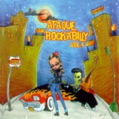 VA / Ataque Rockabilly Vol. 4 (CD)